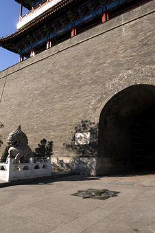 Beijing-Zero-Kilometer Symbol Royalty Free Stock Photo