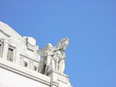 Free Horse Station Statue Royalty Free Stock Photos - 4808158