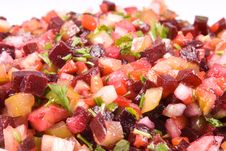 Free Beetroot Salad Stock Image - 4808471