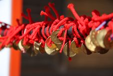 Free Red Rope And Coin Stock Images - 4808474