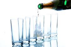 Free Glasses For Alcohol Royalty Free Stock Photos - 4808488
