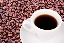 Free Cup Of Coffe Royalty Free Stock Images - 4808829