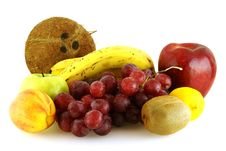 Free Various Of Fresh Ripe Fruits Stock Photography - 4809042