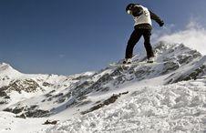 Free Snowboarding Royalty Free Stock Image - 4809146