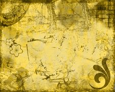 Free Abstract Grunge Background Royalty Free Stock Images - 4809499