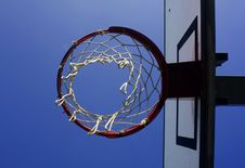 Free Basket Viewed From Below Stock Images - 4809654