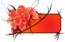 Free Floral Banner2 Royalty Free Stock Photos - 4809868