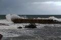 Free Stormy Pier Stock Photos - 48090973