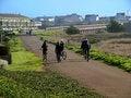 Free Bike Jogging Path Stock Images - 4813674