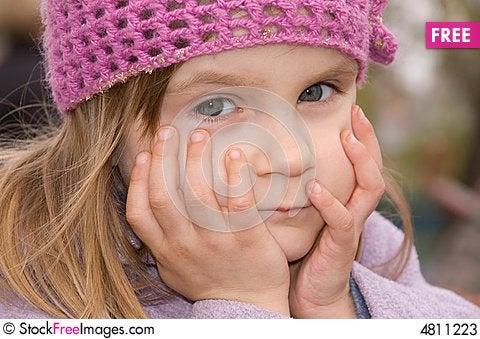 Free Pretty Toughful Girl Stock Photos - 4811223