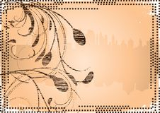 Free Grunge Flower City Royalty Free Stock Photo - 4810005
