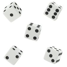 Free Dices Royalty Free Stock Photo - 4810165