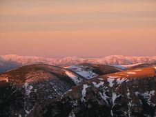 Free Bucegi Sunrise Stock Photography - 4810222