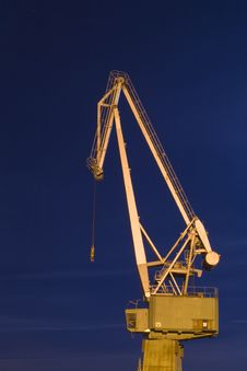 Free Old Crane Stock Photo - 4810270