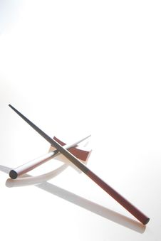 Free Chopsticks And Holder Stock Photos - 4812043