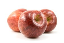 Group Of Red Apples Royalty Free Stock Images