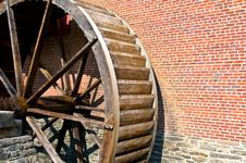 Old Mill Wheel Royalty Free Stock Photos