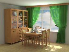 Free Modern Interior 3d Stock Photos - 4813833
