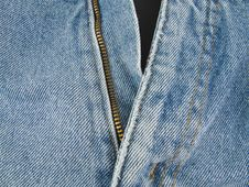 Free Jeans Zipper Royalty Free Stock Photography - 4814327