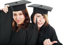 Free Diploma Girls Stock Images - 4815524
