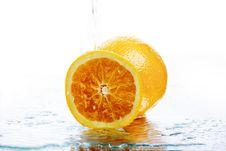 Free Fresh Orange Royalty Free Stock Photos - 4815568