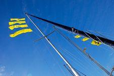 Free Sailboat Mast 2 Royalty Free Stock Photos - 4816138