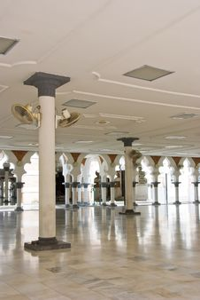 Masjid Jamek Mosque, Kuala Lumpur Stock Image