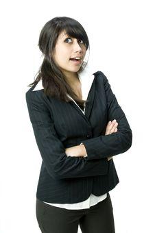 Free Cute Businesswoman Royalty Free Stock Photos - 4817108