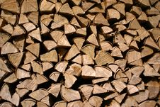 Free Firewood Royalty Free Stock Photography - 4817147