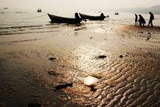 Free Beach Of Beidaihe Royalty Free Stock Image - 4817156