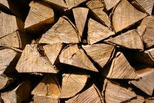 Free Firewood Royalty Free Stock Photography - 4817237
