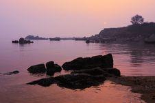 Free Sunrise In Beidaihe Royalty Free Stock Photo - 4817245