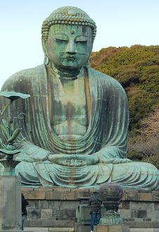 Free Big Buddha At Kamakura Stock Images - 4817294