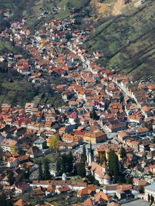 Brasov City (Transylvania) Stock Photography