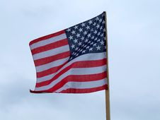 Free The Flag Of The USA Royalty Free Stock Photo - 4817945