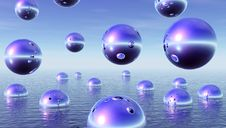 Free Water Balls Stock Image - 4818421
