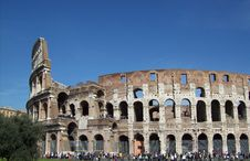 Free The Colosseum 5 Royalty Free Stock Images - 4818909