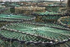 Free Lobster Trap Royalty Free Stock Photos - 4819208