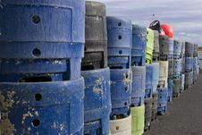 Free Lobster Trap Stacks Stock Photo - 4819240