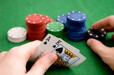 Free Hand Revealing AK Stock Image - 4819981