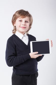 Free Successful Young Man With A Clipboard Smiling Royalty Free Stock Image - 48136136