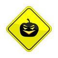 Free Pumpkin Sign Royalty Free Stock Image - 4826136