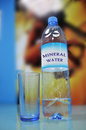 Free Mineral Water Bottle & Glass Royalty Free Stock Image - 4829446