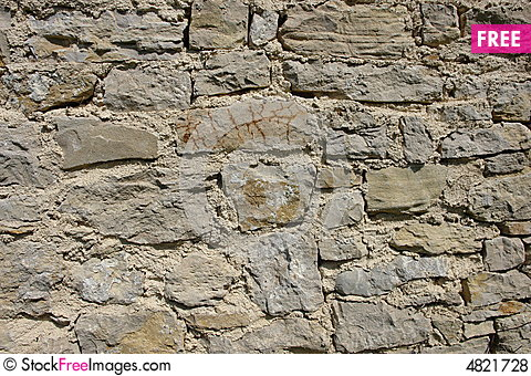 Free Stone Wall Royalty Free Stock Photos - 4821728
