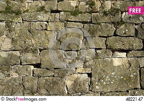 Free Stone Wall Royalty Free Stock Photography - 4822147