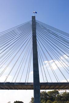 Anzac Bridge Stock Images