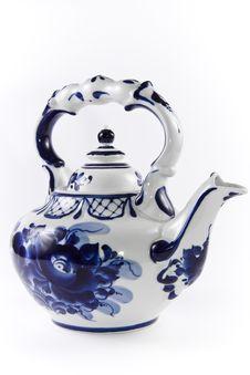 Free Rare China Artifact Tea Pot. Stock Image - 4822111