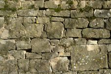Free Stone Wall Royalty Free Stock Photography - 4822147
