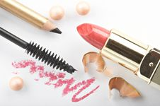Free Still Life With Cosmetics Royalty Free Stock Photography - 4822507