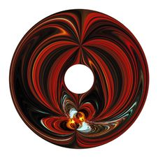 Free Abstract Figure Inside Of Circle. Royalty Free Stock Images - 4822799